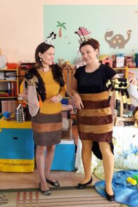 Prowadzące warsztaty: Marzena i Agnieszka