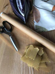 Narzędzia i materiały potrzebne do wykonania woskowijki