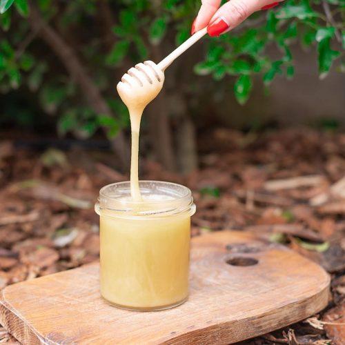 Konsystencja miodu z cytryną